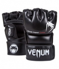 VENUM Impact MMA Gloves Skintex Leather / Black