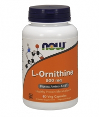 NOW L-Ornithine 500mg. / 60 Caps.