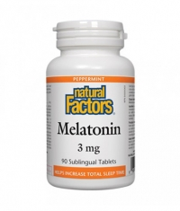 NATURAL FACTORS Melatonin 3mg. / 90 Tabs.
