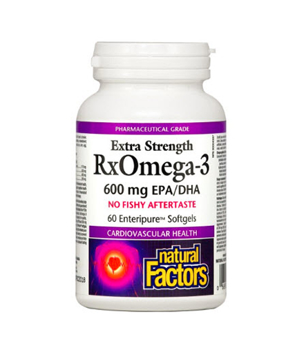 NATURAL FACTORS RX Omega 3 Extra Strength 1170 mg. / 60 Soft.