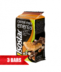 ISOSTAR CEREAL MAX ENERGY / 3x55g.