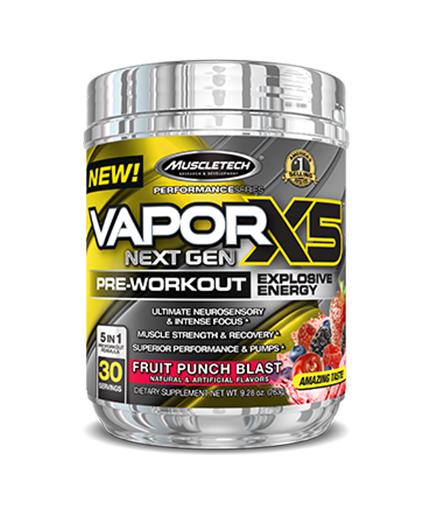 MUSCLETECH Vapor X5 Next Gen Pre-Workout / 30 Serv.