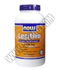 NOW Lecithin /Triple Strength/ 1200mg. / 200 Softgels