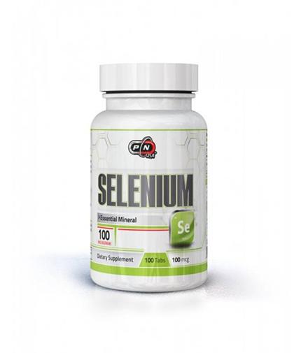 PURE NUTRITION Selenium 100 mcg / 100 Tabs.
