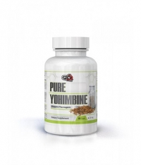 PURE NUTRITION 100% Pure Yohimbine / 2.5mg. / 50 Caps.