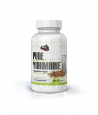 PURE NUTRITION 100% Pure Yohimbine / 2.5mg. / 200 Caps.