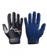 HARBINGER HUMANX X3 Competition Full Finger Gloves BLUE / GREY
