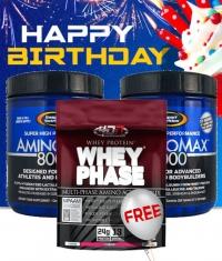 PROMO STACK Birthday Amino Stack