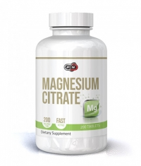 PURE NUTRITION Magnesium Citrate 200mg / 200 Tabs.