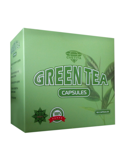 CVETITA HERBAL Green Tea / 90 Caps.