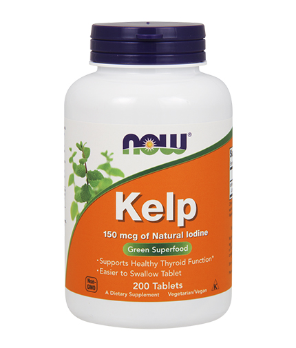 NOW Kelp 150mcg. / 200 Tabs.
