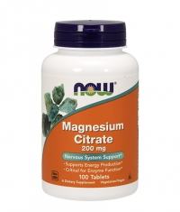 NOW Magnesium Citrate 200mg. / 100 Tabs.