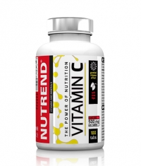 NUTREND Vitamin C with Rose Hips / 100 Tabs.