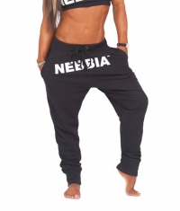 NEBBIA 874 Sweatpants / Black