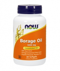 NOW Borage Oil 1000 mg. / 60 Pills.