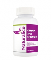 NATURALICO Omega 3ple Strength / 60 Soft.