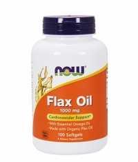NOW Flax Oil 1000mg. / 100 Softgels