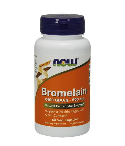 NOW Bromelain 500mg / 60Vcaps