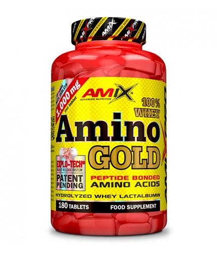 AMIX Amino Whey Gold / 180 Tabs.