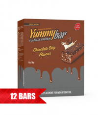 BODYRAISE NUTRITION Yummy Flapjack Bar / 12 x 75g.