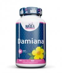 HAYA LABS Damiana Leaf Extract / 100 Caps.