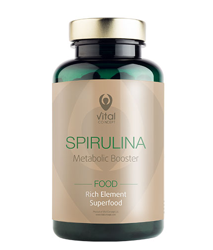 VITAL CONCEPT Spirulina Food / 300 Tabs.