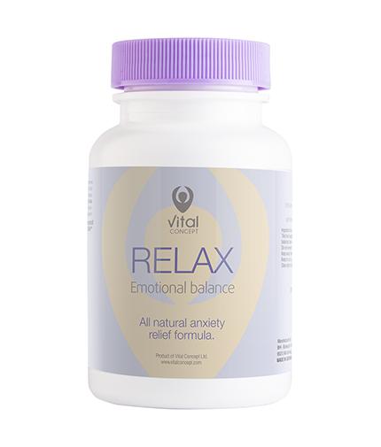 VITAL CONCEPT Relax / 60 Vcaps.