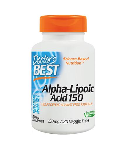 DOCTOR'S BEST Alpha-Lipoic Acid 150mg. / 120 Vcaps.