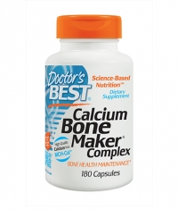 DOCTOR'S BEST Calcium Bone Maker Complex / 180 Caps.