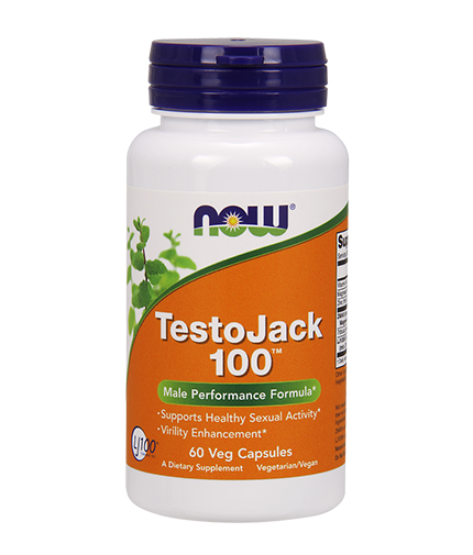 NOW TestoJack 100 ™ / 60 VCaps.