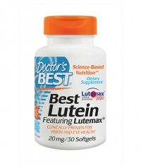 DOCTOR'S BEST Best Lutein 20mg / 30 Soft.