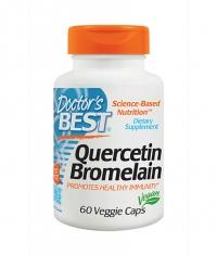 DOCTOR'S BEST Quercetin Bromelain / 60 Vcaps.