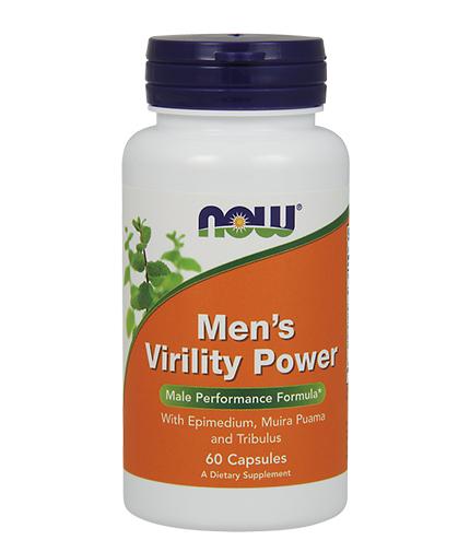 NOW Men's Virility Power 60 Caps.