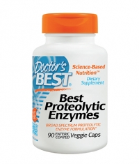 DOCTOR'S BEST Proteolytic Enzymes / 90 Vcaps.
