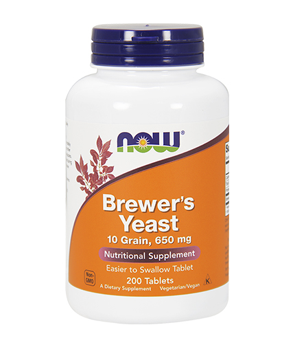NOW Brewers Yeast 650mg. / 200 Tabs.