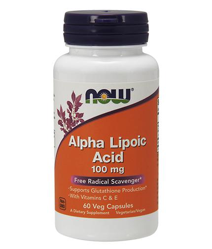 NOW Alpha Lipoic Acid 100 mg. / 60 VCaps.