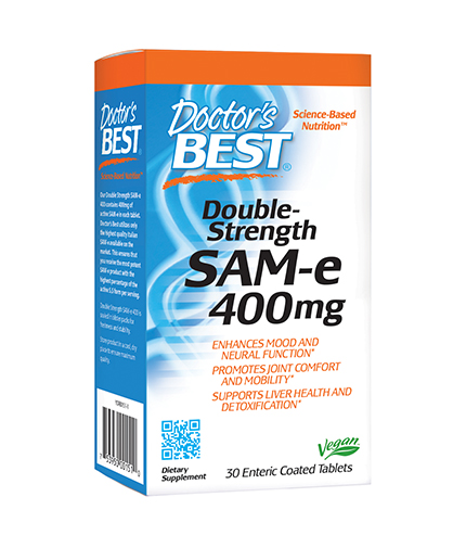 DOCTOR'S BEST SAMe 400mg. / 30 Tabs.