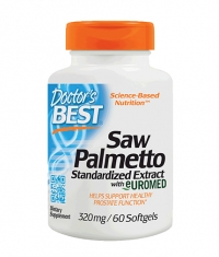 DOCTOR'S BEST Saw Palmetto 320mg. / 60 Soft.
