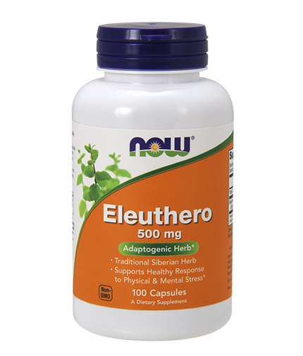 NOW Eleuthero 500 mg. / 100 Caps.