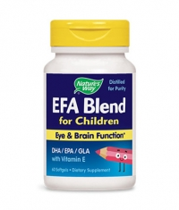 NATURES WAY EFA Blend for Kids / 60 Soft.