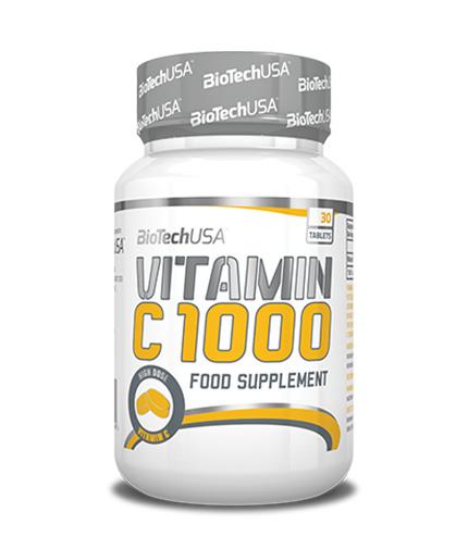 BIOTECH USA Vitamin C 1000mg. / 30 Tabs.
