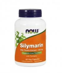 NOW Silymarin /Milk Thistle Extract/ 150mg. / 60 Caps.