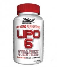 NUTREX Lipo-6 Stim Free / 120 Caps.