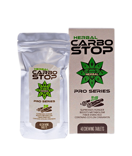 CVETITA HERBAL Carbo Stop / 40 Chew.