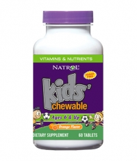 NATROL Kids Multivitamins Orange / 60 Tabs.
