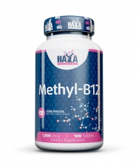 HAYA LABS Methyl B-12 / 1000mcg / 100 Tabs.