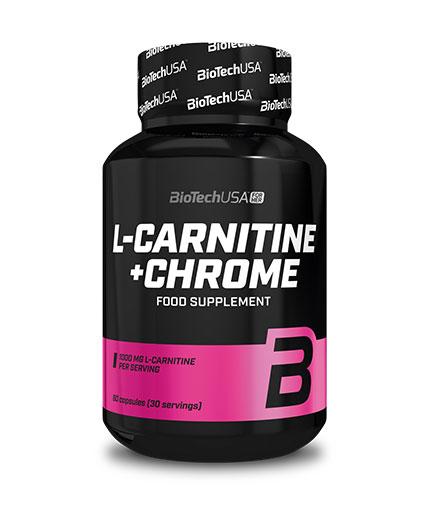 BIOTECH USA FOR HER L-Carnitine + Chrome 60 caps