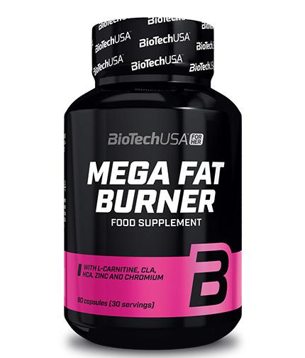 BIOTECH USA Mega Fat Burner 90 caps
