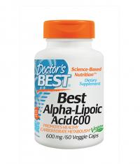 DOCTOR'S BEST Alpha-Lipoic Acid 600