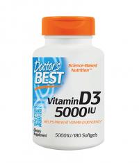 DOCTOR'S BEST Vitamin D3 5000IU / 180 softgels